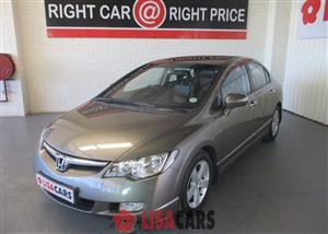 2007 Honda Civic hatch 1.8 VXi automatic