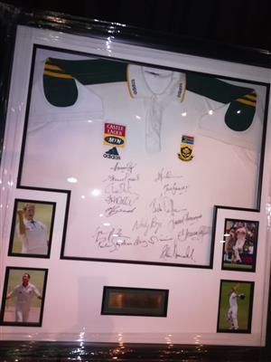 Protea Test Squad Signed Shirt