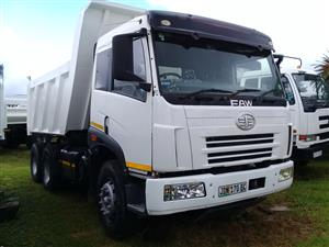 FAW 380 TRUCK FITTED WITH BRAND NEW 10 CUBE TIPPING BODY