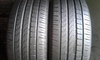 205/50R17 PIRELLI (RUNFLAT) TYRES FOR SALE