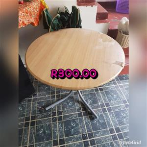 Light wooden round table for sale