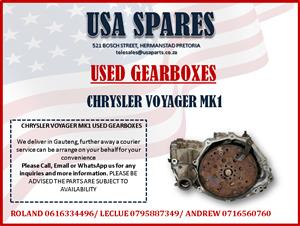 CHRYSLER VOYAGER MK1 USED GEARBOXES FOR SALE