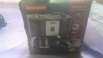 Mellerware Modena 3 in 1 Coffee maker for sale  Bot River