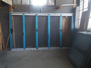Aluminium Sliding folding door and sliding doors
