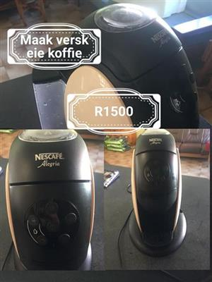 Nescafe alegria coffee machine