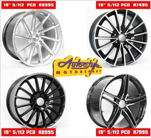 Mags alloy rims wheels suitable for VW - Audi- BMW - Merc