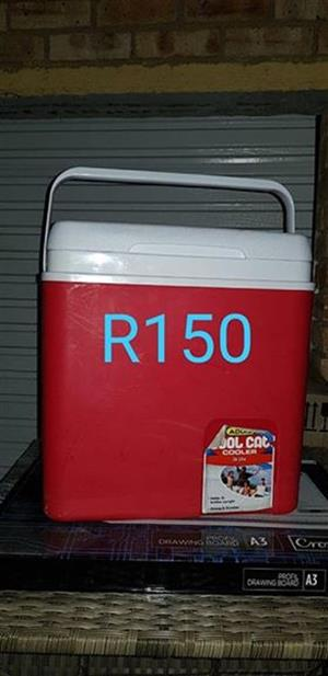Red cooler box for sale