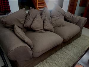 Coricraft couches lounge set