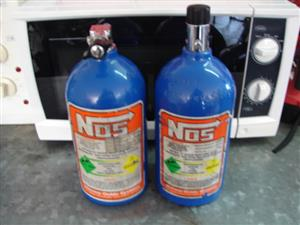 NOS Nitrous Oxide 2lb bottle