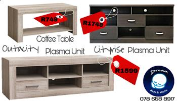 AFFORDABLE Plasma Units and Couches For Sale