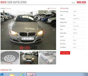 bmw e90 pretoria For Sale in Cars in Pretoria | Junk Mail