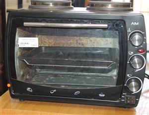 Aim 2 plate stove with oven S032145A #Rosettenvillepawnshop
