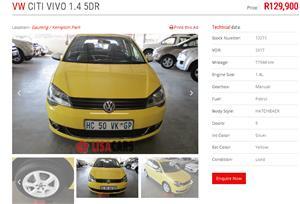 2017 VW Polo Vivo hatch 1.4 CiTi Vivo