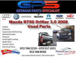 Mazda BT50 3.0 Drifter 2008 Used Parts for Sale