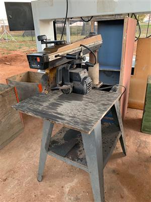 Radial Arm Saw, DEWALT, 7770 Lectrostop, Ø-250, 2.2 kW, 220V for sale  Heidelberg