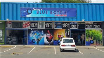 Superb Bottle store on main street