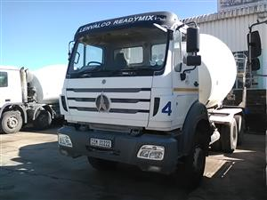 Build A World Class Construction Company When You Buy This Powerstar 6 Cube Concrete Mixer Truck