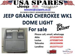 jeep grand cherokee wk1 dome light for sale
