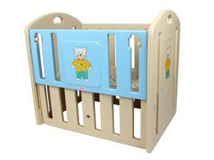 Adjustable Teddy Baby Cot