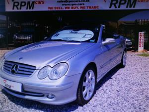 2004 Mercedes Benz CLK 500 cabriolet Elegance
