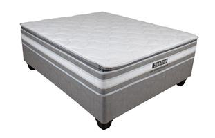Restonic Restcare Pillow Top Queen Base Set
