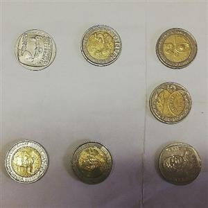 South African collectable coins