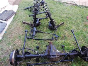 TOYOTA COROLLA DIFF AND FRONT WHEEL DRIVE SUSPENSION