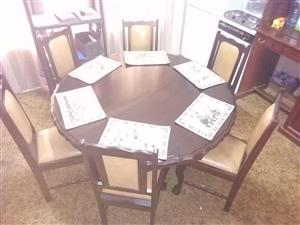 Full Imbuia Dining Room