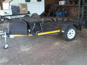 Trailer, breakneck, for quads, bikes or golf card