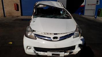 2014 Toyota Avanza AVANZA 1.5 TX Code 3