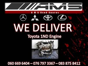 TOYOTA 1ND ENGINE FOR SALE