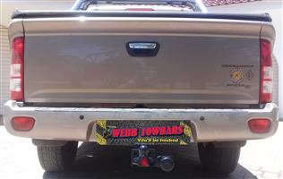 Foton Standard/Detachable Towbars, Double Tube & Step Towbars