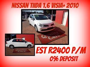 2009 Nissan Tiida sedan 1.6 Acenta