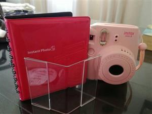 Instax mini cam with photo frame amd photo album brand new