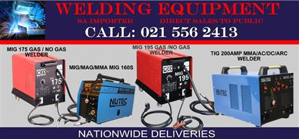 Welding machines Buy direct from SA importer