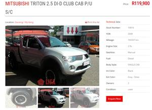 2009 Mitsubishi Triton 2.5DI D ClubCab