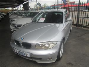 2004 BMW 1 Series 120i 3 door