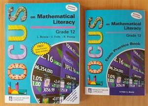 Focus on Mathematical literacy. Grade 12. (National Curriculum) Exam practice book.
