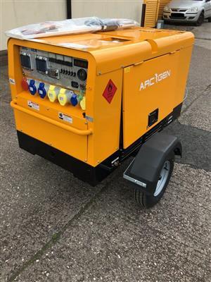 Arcgen Powermaker 15 KVA Multi Voltage Diesel Generator, Kubota Diesel