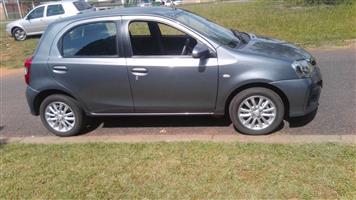 2017 Toyota Etios hatch ETIOS 1.5 Xs/SPRINT 5Dr