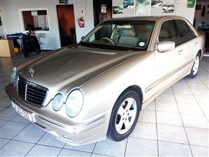 2000 Mercedes Benz E Class E200 Elegance
