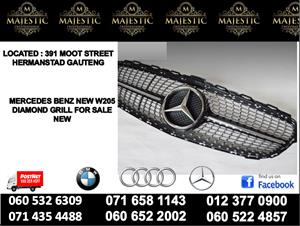 Mercedes benz W205 diamond grill new for sale