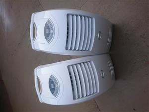 2 x 12000btu portable air conditioners