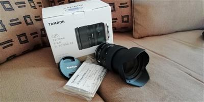 Tamron 24-70mm f/2.8 SP Di VC USD G2 Lens for Canon