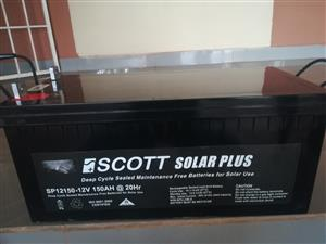 SCOT DEEP CYCLE BATTERIES FOR SALE