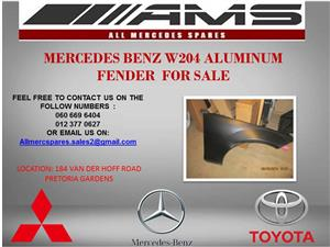 MERCEDES BENZ W204 ALUMINUM FENDER FOR SALE