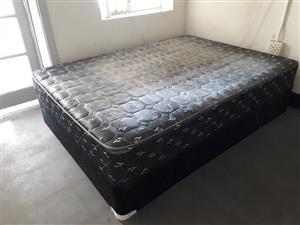 Dubbel bed met matras