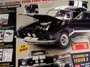Build your own Ford Mustang 1967 Shelby GT -500 (1:8 Scale)