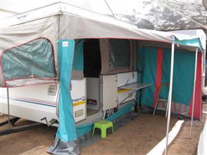 Jurgens slipstream 1996 caravan