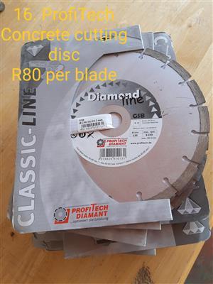 PROFITECH DIAMANT Concrete Cutting Discs